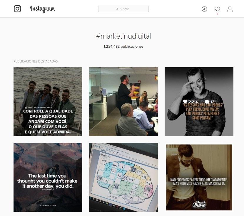 Cómo funcionan los hashtags en Twitter, Instagram y Facebook